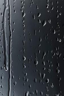 Streszczenie krople deszczu wzór
