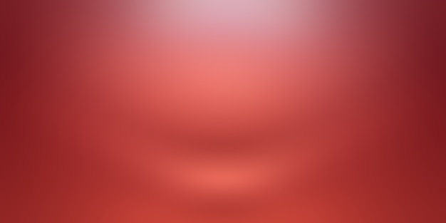 Streszczenie luksusowe miękkie czerwone tło boże narodzenie projekt układu walentynki, studio, pokój, szablon sieci web, raport biznesowy z gładkiego okręgu kolor gradientu.