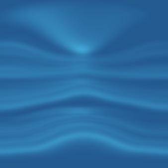 Streszczenie luksusowe niebieskie tło gradientowe. gładki ciemnoniebieski z czarną winietą baner studio.