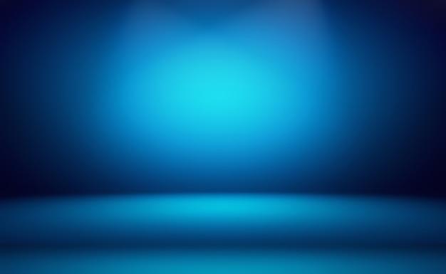 Streszczenie luksusowe niebieskie tło gradientowe.