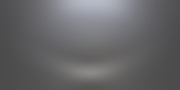 Streszczenie luksusowe rozmycie ciemnoszary i czarny gradient, używany jako tło ściana studyjna do wyświetlania produktów.