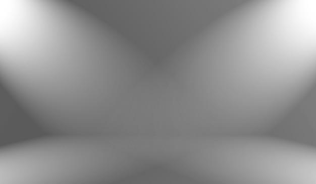 Streszczenie luksusowe rozmycie gradient koloru szarego, używany jako tło ściana studio do wyświetlania produktów.