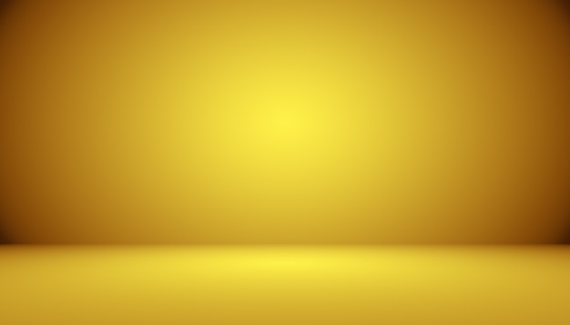 Streszczenie Luksusowe Złote Studio Dobrze Służy Jako Tło I Prezentacja Darmowe Zdjęcia