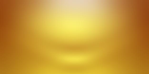 Streszczenie Luksusowe Złoto żółte ściany Gradientowe Studio, Dobrze Wykorzystać Jako Tło, Układ, Baner I Prezentację Produktu. Darmowe Zdjęcia