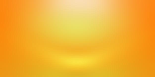 Streszczenie luksusowe złoto żółte ściany gradientowe studio, dobrze wykorzystać jako tło, układ, baner i prezentację produktu.