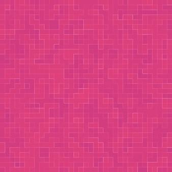 Streszczenie luksusowy słodki pastelowy różowy odcień ściany płytki podłogowe szkło wzór mozaika tekstura tło dla materiałów meblowych.