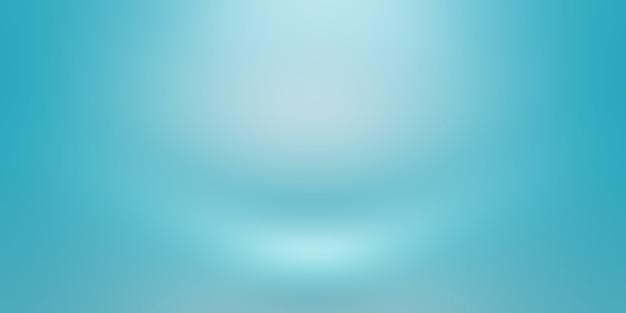 Streszczenie Luksusowych Gradientu Niebieskie Tło. Gładki Granatowy Z Czarnym Banerem Winiety Studio. Darmowe Zdjęcia