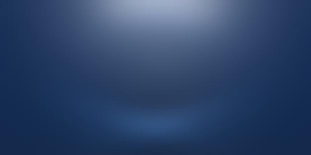 Streszczenie luksusowych gradientu niebieskie tło. gładki granatowy z czarnym banerem winiety studio.
