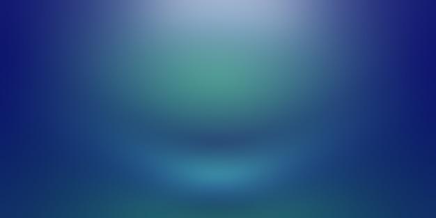 Streszczenie Luksusowych Gradientu Niebieskie Tło. Gładki Granatowy Z Czarnym Winietą Studio Banner. Premium Zdjęcia