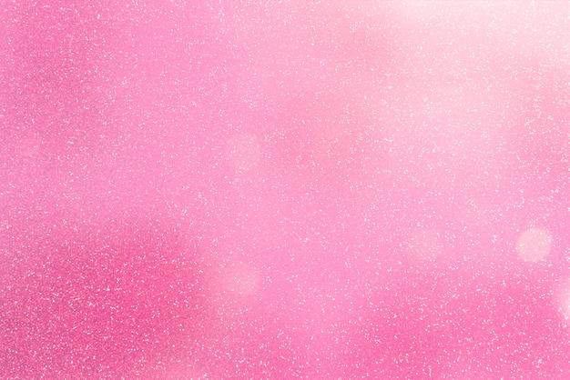 Streszczenie miękkie brokat różowy tło.