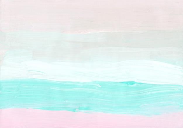 Streszczenie minimalistyczne pastelowe różowe, zielone, białe tło