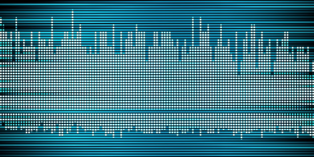 Streszczenie muzyka fala dźwiękowa fala dźwiękowa puls wykres tła
