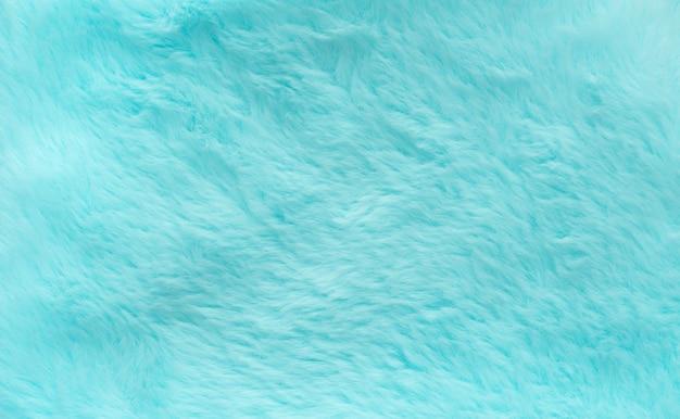 Streszczenie niebieski zielony kolor puszystej wełny tekstury tła