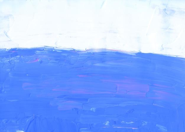 Streszczenie niebieskim i białym tle z teksturą