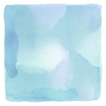 Streszczenie niebieskim i zielonym tle akwarela