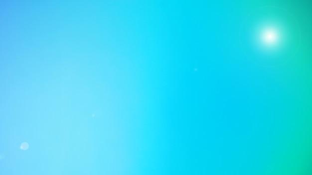 Streszczenie niewyraźne oświetlenie pochodni i tło gradientowe. miętowy zielony kolor tła. szablon transparentu. siatkowe tło w pastelowym, słodkim kolorze.