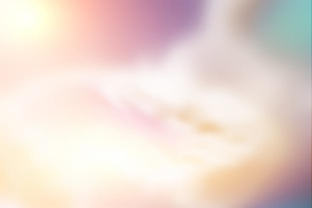 Streszczenie niewyraźne tło koncepcji różowego nieba