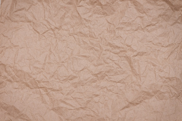 Streszczenie opakowania rzemiosła pomarszczona tekstura papieru