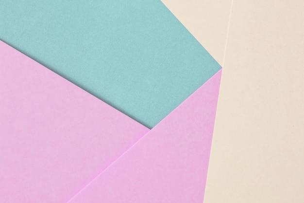 Streszczenie papieru jest kolorowe tło, kreatywne projektowanie pastelowych tapet.
