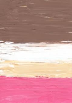 Streszczenie pastelowe brązowe żółte różowe i białe tło