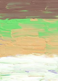 Streszczenie pastelowe brązowe, żółte, zielone i białe tło