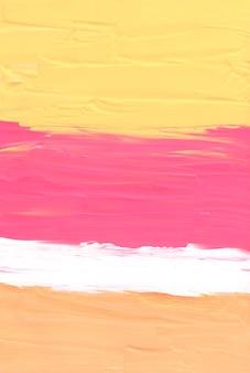 Streszczenie pastelowe brzoskwiniowe żółte różowe i białe tło