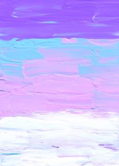 Streszczenie pastelowe fioletowe różowe niebieskie i białe tło