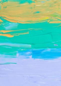Streszczenie pastelowe fioletowe zielone żółte niebieskie tło