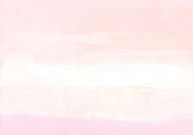 Streszczenie pastelowe miękkie różowe, brzoskwiniowe i białe tło