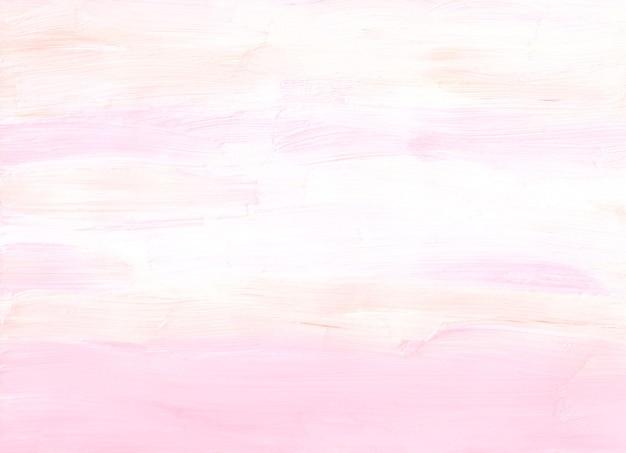 Streszczenie pastelowe miękkie różowe, kremowe i białe tło