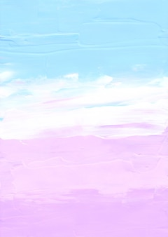 Streszczenie pastelowe niebieskie, różowe i białe tło z teksturą