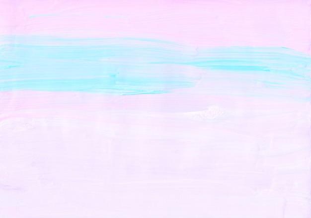 Streszczenie pastelowe niebieskie, różowe i białe tło