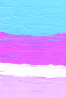 Streszczenie pastelowe niebieskie różowe i białe tło