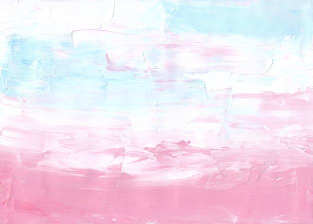 Streszczenie pastelowe różowe, białe, niebieskie tło