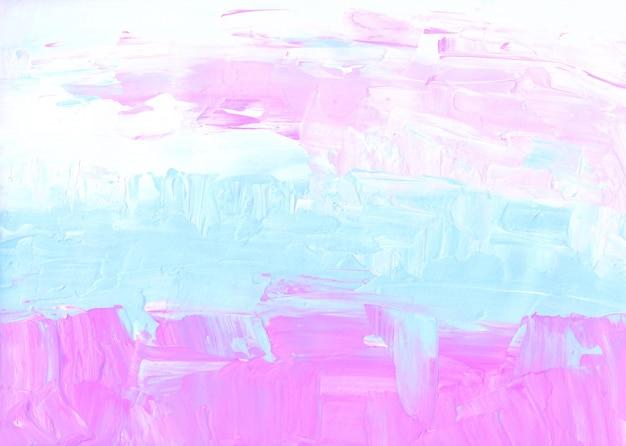 Streszczenie pastelowe różowe, niebieskie i białe tło z teksturą