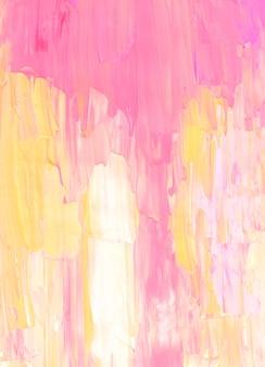 Streszczenie pastelowe różowe, żółte i białe tło.
