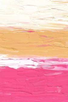 Streszczenie pastelowe różowe żółte i białe tło