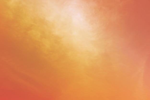 Streszczenie pastelowe tło kolor, miękkie niebo z chmurą tle w pastelowym kolorze
