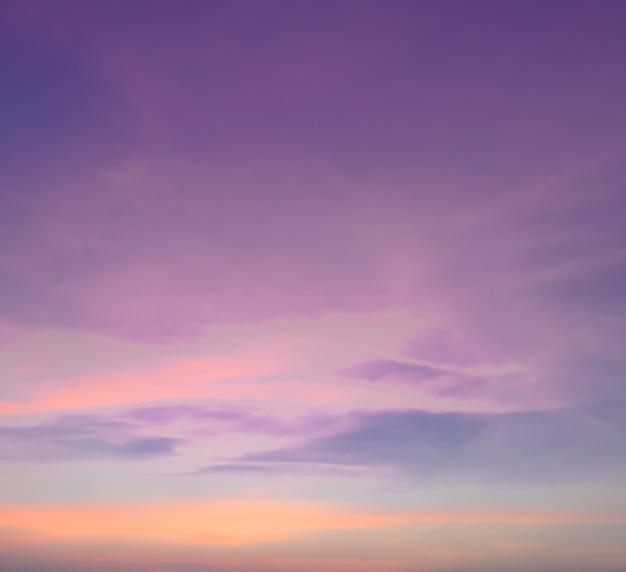 Streszczenie pastelowe tło nieba