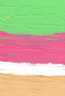Streszczenie pastelowe zielone żółte różowe i białe tło