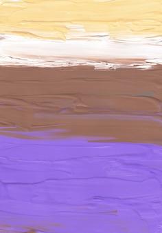 Streszczenie pastelowe żółte brązowe fioletowe i białe tło