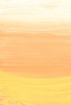 Streszczenie pastelowe żółte brzoskwinie i białe tło gradientowe
