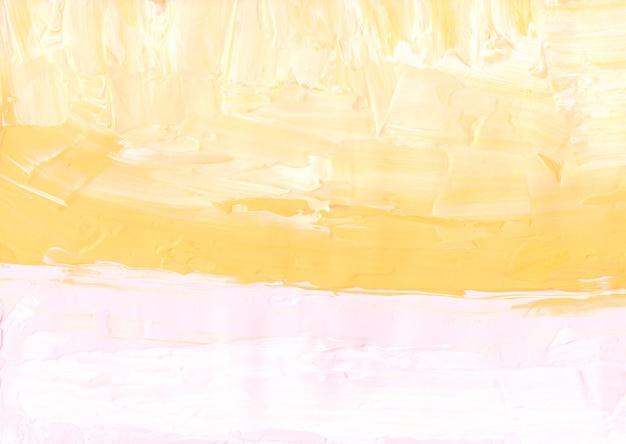 Streszczenie pastelowe żółte i białe tło z teksturą