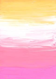 Streszczenie pastelowe żółte, różowe i białe tło