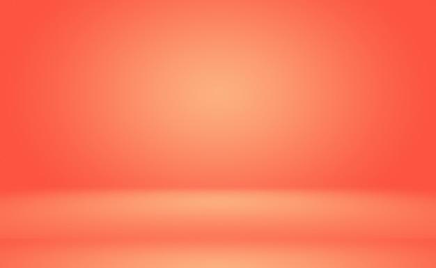 Streszczenie Pomarańczowym Tle Projekt Układustudioroom Szablon Sieci Web Raport Biznesowy Z Gładkim Kołem G... Darmowe Zdjęcia