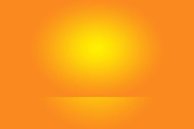 Streszczenie pomarańczowym tle projekt układustudioroom szablon sieci web raport biznesowy z gładkim kołem g...