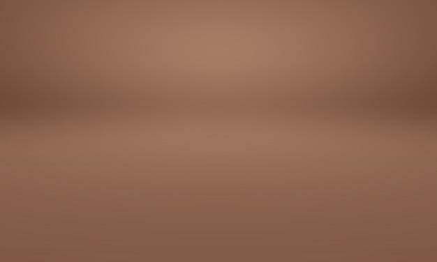 Streszczenie projekt układu tła ściany gładkie brown, studio, pokój, szablon sieci web, raport biznesowy z kolorem gradientu gładkiego koła.