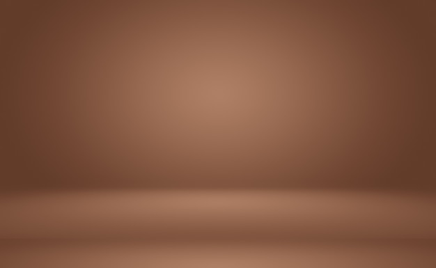 Streszczenie projekt układu tła ściany gładkie brown, szablon strony internetowej, raport biznesowy z kolorem gradientu gładkiego koła.