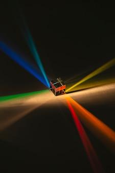 Streszczenie Pryzmat I Tęczowe światła Darmowe Zdjęcia
