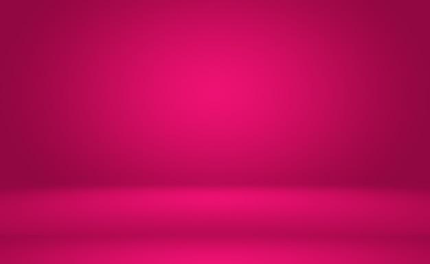 Streszczenie Pusty Gładki Jasnoróżowy Pokój Studio Tło, Użyj Jako Montaż Do Wyświetlania Produktu, Baner, Szablon. Premium Zdjęcia